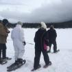 snowshoeing elders